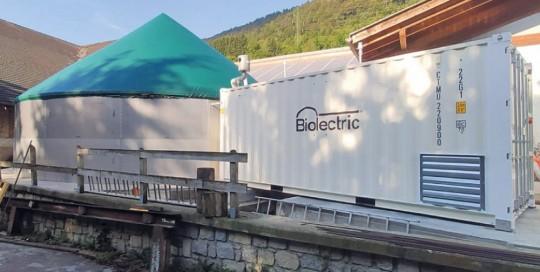 MicroBiogasItalia - Impianto a Sella Giudcarie (TN) - 22kW