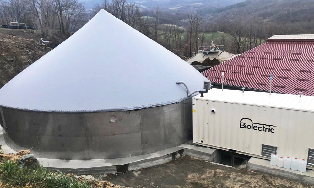 MicroBiogasItalia - Impianto a Varsi (PR) - 33kW